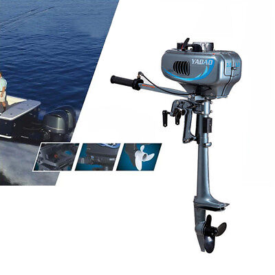 3.5HP 2 Stroke Outboard Motor Boat Engine CDI System for Fishing Boat UK