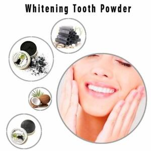 get your smile Back !!100% Natural Tooth Whitening Black Activated Charcoal Teeth Whitening