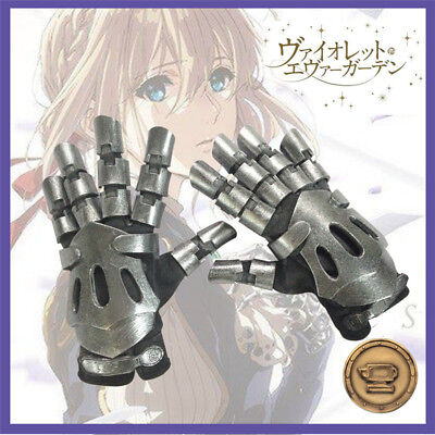 Baby Anime Cosplay (Animation Violet Evergarden Cosplay Prop Baby Doll Robot Gloves Hand)