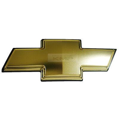 Bowtie Mark Logo Front Radiator Grill Cross Gold Emblem Badge 1Pcs For CHEVORLET