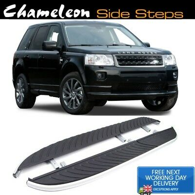 Land Rover Freelander 2 OEM Style Running Boards / Side Steps 2007-2014