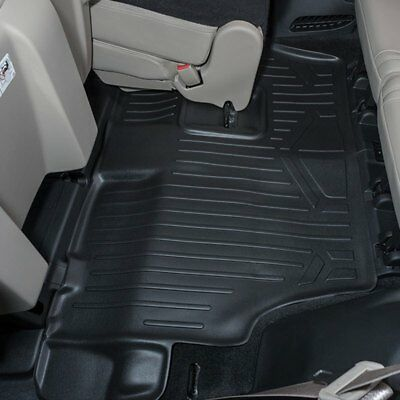 (For Dodge Durango 2011-2018 MaxLiner C0071 MaxFloormat 3rd Row Black Floor Liner)