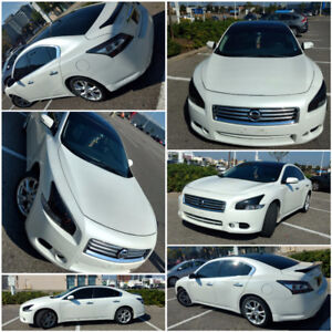 Luxury Platinum Package with glass roof Nissan Maxima