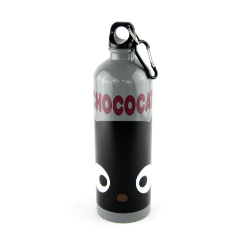 Rare Sanrio Chococat Cat Face Stainless Steel Biker Water Bottle Drink Container