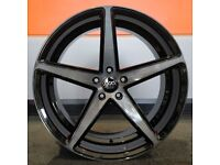 """20"""" Staggered AVA 315 Alloy Wheel and Tyre Package 5X120 Bmw 3 Series and 4 Series"""