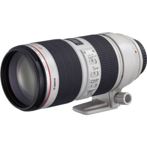 Canon EF 70-200mm LensF/2.8L IS USM II