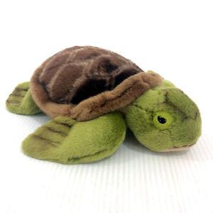 "Gund Plush Turtle Gundimals Stuffed Animal 12"" Long 4028948 Soft"