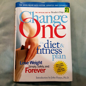 Book ~ Change One: The Diet & Fitness Plan by Reader's Digest