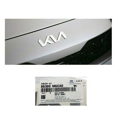Genuine Parts Front Hood Emblem New KIA Logo Badge 2022+ K3 86300-M6EA0
