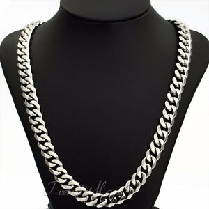 "Stainless Steel 24"" inch -15mm Cuban Link Chain"