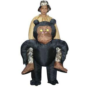 Inflatable-Adulto-chimpance-Chimpance-Mono-Gorila-Simio-Disfraz