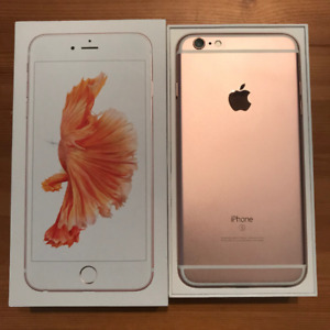 iPhone 6S Plus, 32GB, Rose Gold, $450