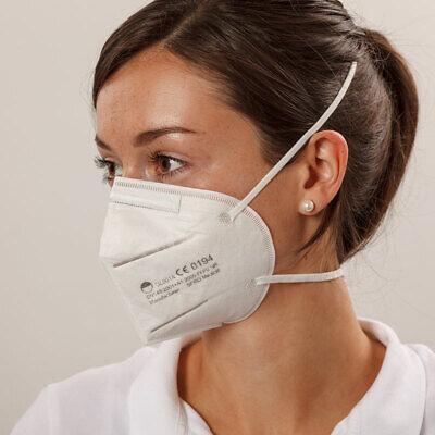 10 Stk. FFP2 Maske / Atemschutzmaske / Halbmaske (CE 0194 - zertifiziert) EN 149
