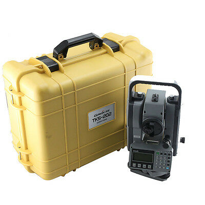 New Topcon Gowin Tks-202n 2 Reflectorless Total Station For Surveying