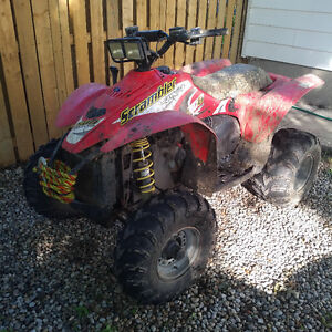 2002 Polaris scrambler and Trailer both perfect