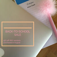 Back-to-School Sale - Singing/Acting Lessons