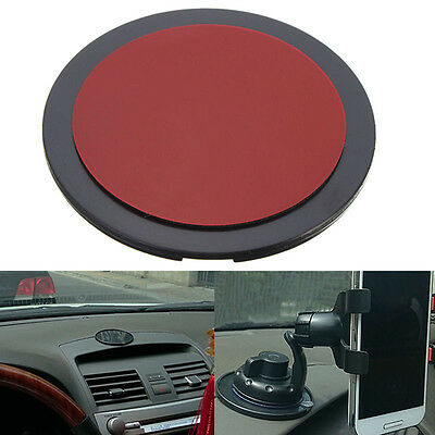 - Round Car Suction Cup Adhesive Dash Dashboard Mount Disc Pad For GPS Phone Stand