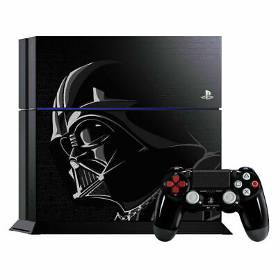 NEW Sony PlayStation PS4 500GB Star Wars Darth Vader Limited Edition Console