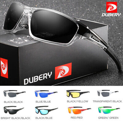 DUBERY Men Sport Polarized Sunglasses Driving Outdoor Riding Fishing Glasses DE