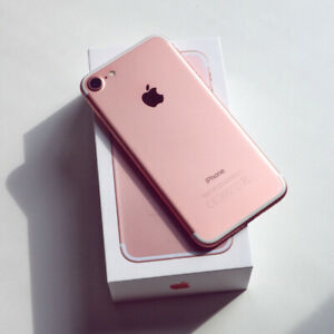 Apple Iphone 7 32GB Rose Gold Factory Unlock Mint Condition