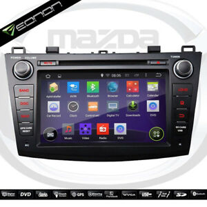 radio auto gps navigation dvd bluetooth android pour mazda3