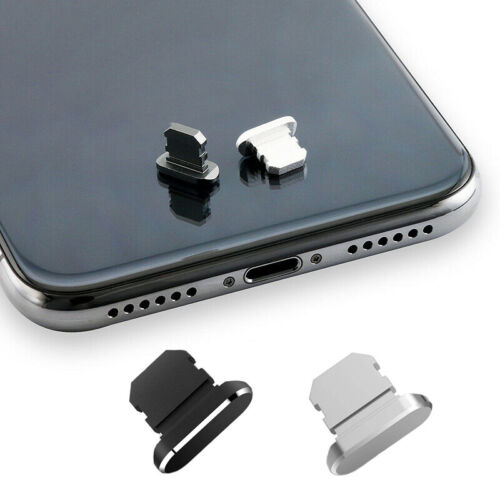 2 Packs Anti Dust Plugs Charger Port Dust Cover for iPhone 12 Pro iPhone 11/8/7