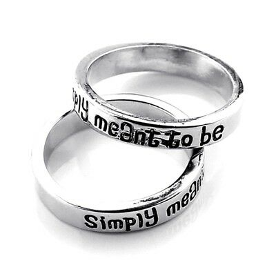 Nightmare Ring Simply Meant to Be Engagement Ring Jack and Sally Wedding Ring