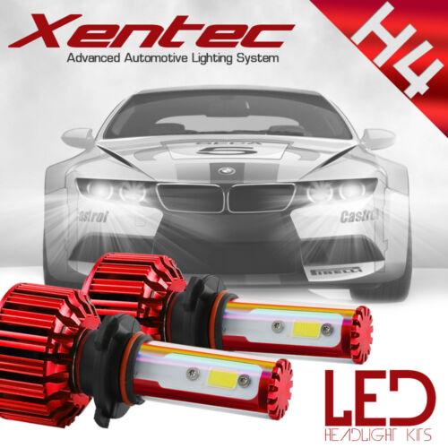 72W 8000LM US BridgeLux Chip LED Kit 6000K Headlight Hi / Lo Bulbs - H4 HB2 9003