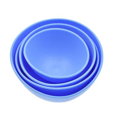 Dental Mixing Bowl Blue Nonstick Flexible Dental Lab Silicone Rubber Pick Size