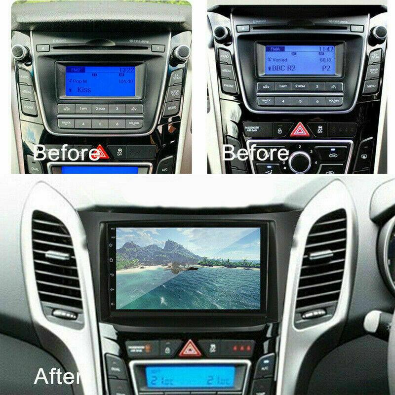 For Hyundai I30 Elantra GT 2012-2016 Android 10.1 Car DVD Player Radio Stereo US