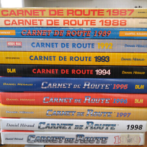"Lot de guide automobiles ""Carnet de route"" 1987-1999"