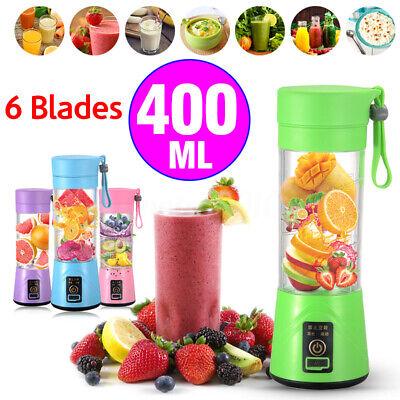 Portable 400ml Electric Juice Blender Safety Juicer Cup Mult
