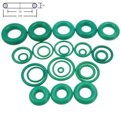 10pcs Oil Resistant Fkm Viton Fluorine Rubber Sealing O-ring Od 4-50mm Cs 1.5mm