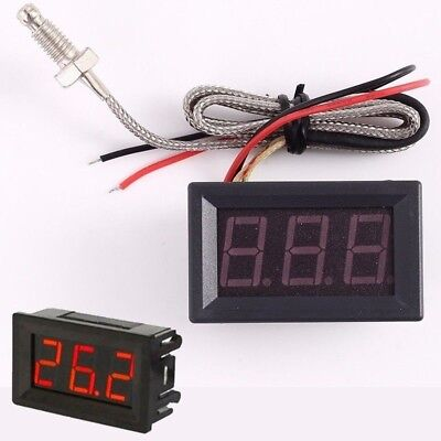 Led Digital Display High Temperature Tester K-type Thermocouple M6 Probe