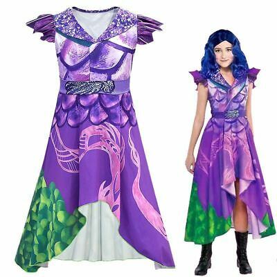 Party City Descendants 3 Dragon Mal Costume Kids Adult 3D Fancy Dress Cosplay