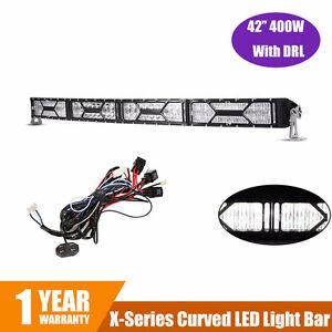 """Barre de lumière LED 42 """" Courbé Eagle Eye X-series 400W"""