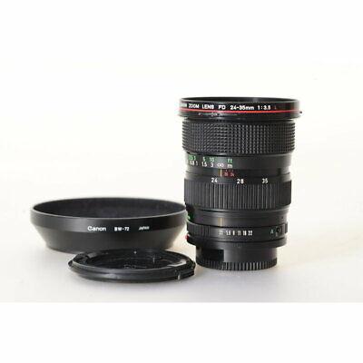 Canon FD 24-35mm L F/3.5 - fd 3,5-24-35 l Gran angular Objetivo Zoom segunda mano  Embacar hacia Spain
