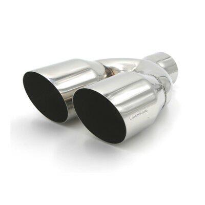 Dual Stainless Pipes - 2.5
