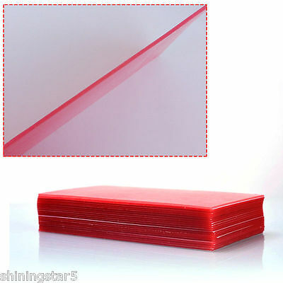 20 Sheets Dental Lab Base Plate Red Utility Wax Dental Supplies Equipment