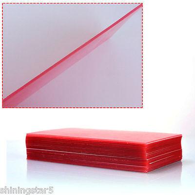 20 Sheets Dental Lab Base Plate Red Utility Wax Dental Supplies Equipment