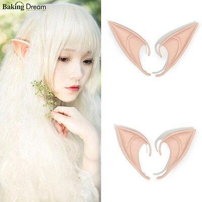 The Hobbit Latex Elf Ears Cosplay Party Props Halloween Costume Eear Wear](The Hobbit Elf Costume)