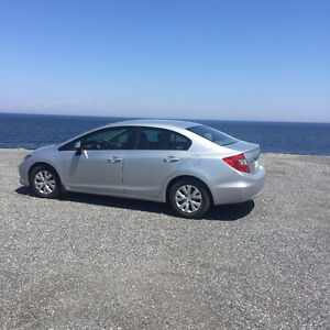 2012 Honda Civic LX Berline, Garantie 2018