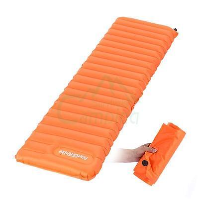 Self Inflating Camping Pad Mat Hiking Cushion Bed Sleeping Backpacking Air