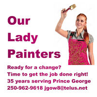 Interior House Painting 35 Years Serving Prince George