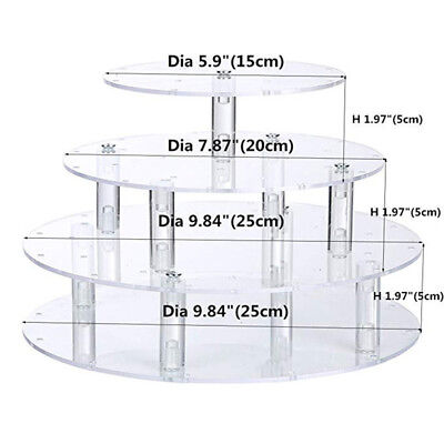 4 Tier Lollipop Cake Pop 35 Holes Display Wedding Stand Holder