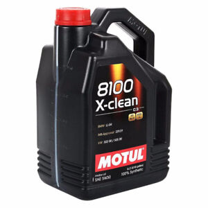 Motul 8100 X-clean Full Synthetic Engine Oil 5W40 5L
