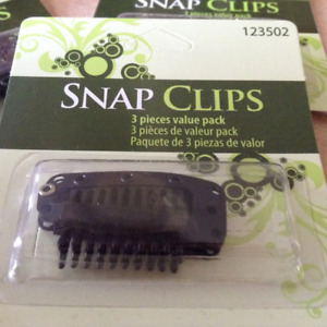 New In Pkg Hair Extension Clips
