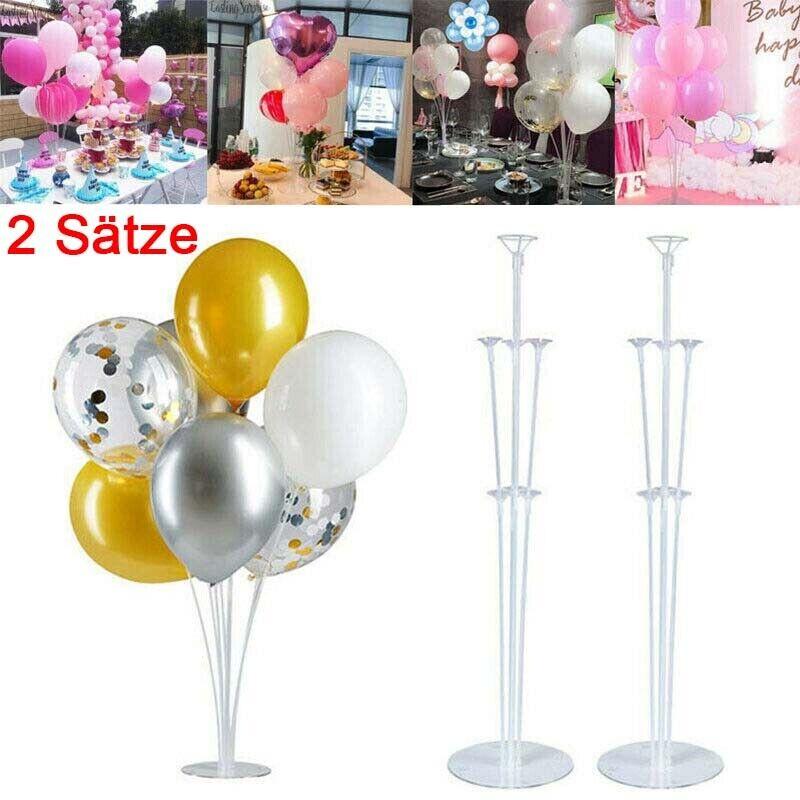 15 Luftballon Stäbe Luftballonhalter Ballonstäbe alles Plaste