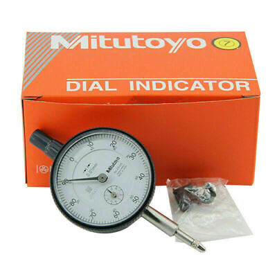 Mitutoyo 2046s Dial Indicator 0-10mm X 0.01mm Grad