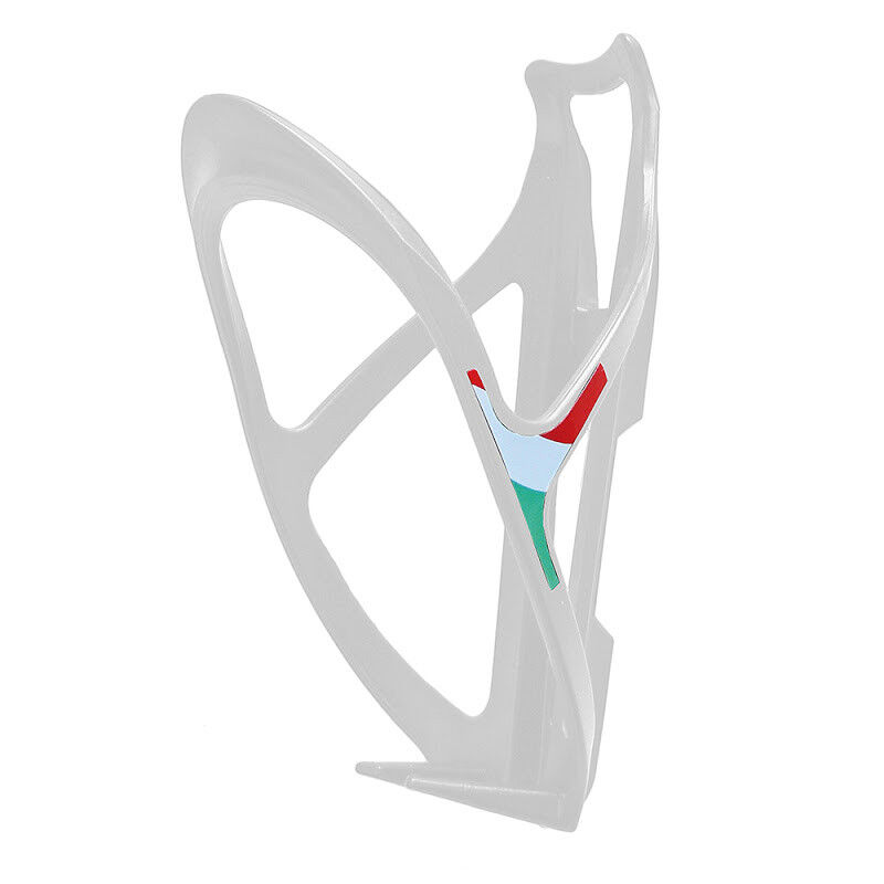 PORTABORRACCIA per Bici Gabbia bottiglia da MTB STRADA CORSA  Nylon BIANCO X-ONE